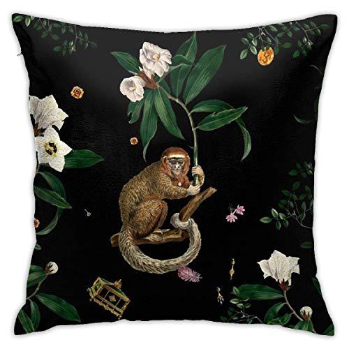 shenguang Monkey World Amber-Ella Tirar Almohadas, Fundas de Almohada, Floor Fundas de Almohada, Sofás, Cushion Covers, Cojín de Coche Backrest Covers