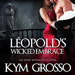 Leopold's Wicked Embrace audiobook cover art