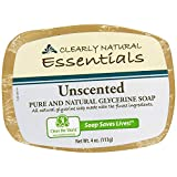 Clearly Natural Unscented Glycerine Bar Soap