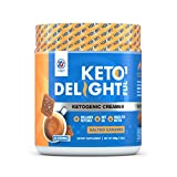 Vaxxen Labs Ketogenic Creamer – Includes Grass-Fed Butter, MCT Oil, Collagen Peptides, and Coconut Oil – Add to Your Favorite Beverages – Salted Caramel Flavor – 30 Servings