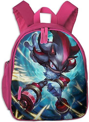 Waterproof Children Backpack, Hedgehog Speed of Hero Sonic Cartoon Shadow The Hedgehog...