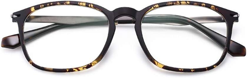 Hombres Mujeres Gafas de Lectura de Anti-BLU-Ray Anti-radiación, TR90 Negro Redondo Gafas de Lectura de fotograma Completo, Ancianos Lectura de teléfonos móviles computadoras Gafas protección ocula