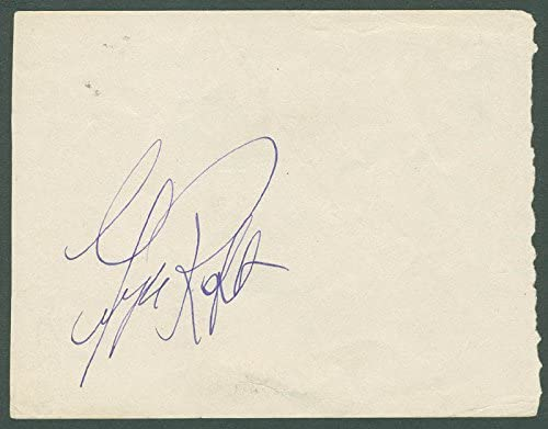 George Raft - Signature Direct stock discount co-signed Sir By: Ralph Import Richardson