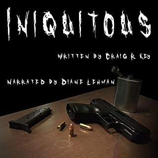 Iniquitous audiobook cover art