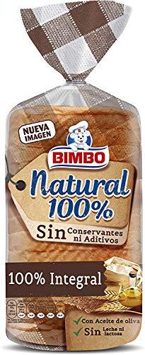 Bimbo - Natural 100% Pan Integral con Corteza 450gr , 16 Rebanadas
