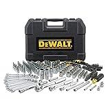 DEWALT Drive Socket Set for Mechanics, 200-Piece, MM/SAE (DWMT75000)