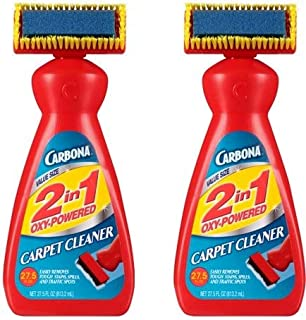 Carbona 2 in 1 Oxy-Powered Carpet & Upholstery Cleaner, 27.5 Fl Oz (2)