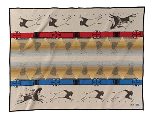 Made In Oregon Pendleton Decke: Lakota Way of Life