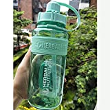 PUK Botella de Agua de Gran tamaño de1L1000ml Frozem Botella Espacial portátil Herbalife Sports Nutrition Botella mezcladora Personalizada