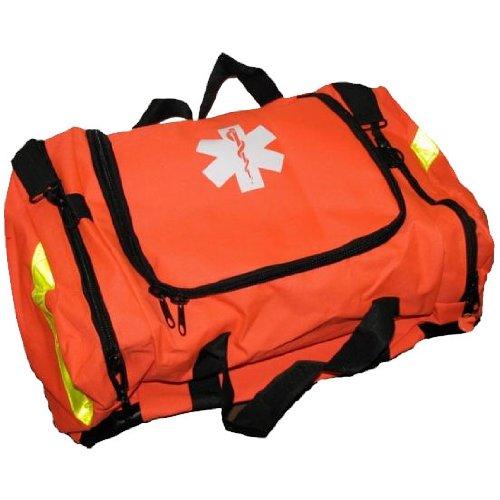 DixieGear Large EMT First Responder Trauma Bag - Orange