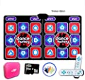 MCRDAE Wireless Foldable Children Double 3D Somatosensory Game Console Dance Mats Fitness Play Dance Revolution Dancing Lose Weight Dance Pad 530 from MCRDAE