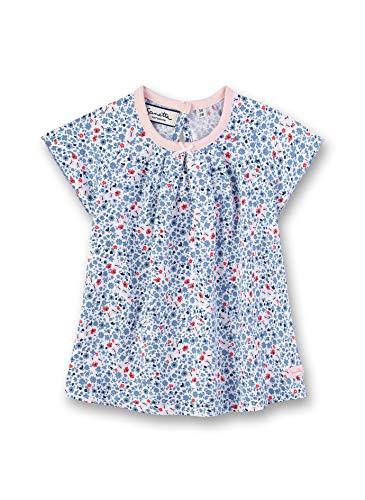 Sanetta Baby-Mädchen Fiftyseven Dress Kleid, Blau (Cornflower Blue 50316), 92 (Herstellergröße: 092)