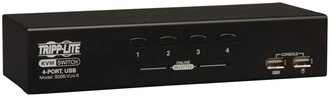 Tripp Lite 4-Port Desktop KVM Switch USB Selling HD15 online shop VGA B006-VU4-R