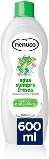 Nenuco Agua Siempre Fresca con extractos naturales cítricos y florales - 600 ml