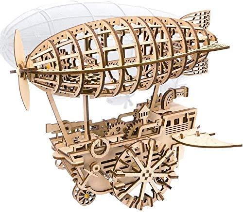 CZWYF BAU- & Konstruktionsspielzeug 3D Holzluftfahrzeug-Modell-Kits, hölzerne lasergeschnittenes Puzzle, Erwachsene Models Roboterspielzeug-Kits, um for Kinder oder Erwachsene zu Bauen