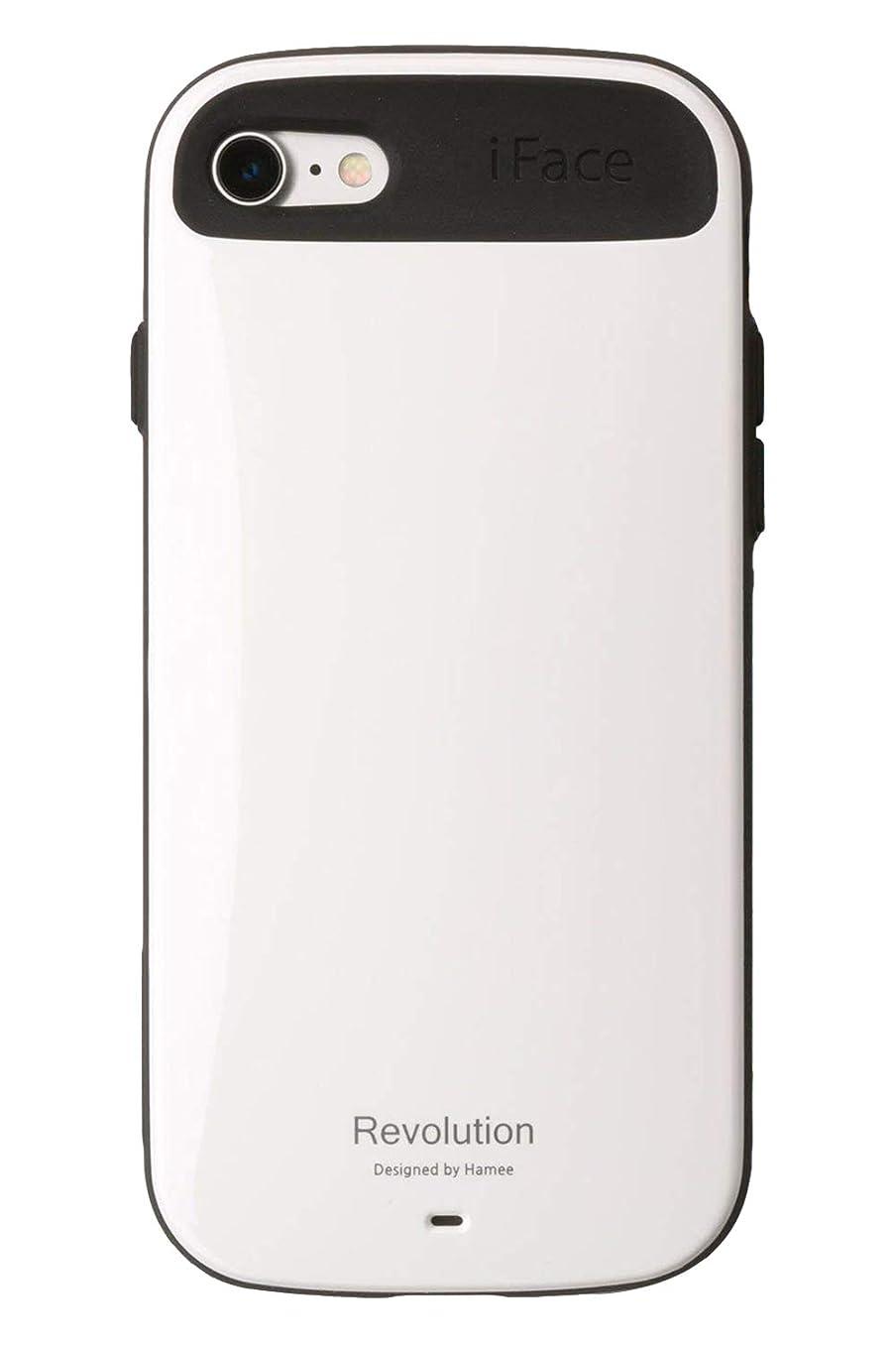 スマート受けるギャラリーiFace Revolution Standard iPhone8 / 7 ケース 耐衝撃 / ホワイト