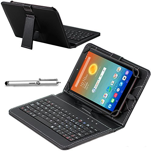 Navitech Housse étui Clavier intégré avec Stylet Compatible avec Tablette ASUS ZenPad 8 Z380C