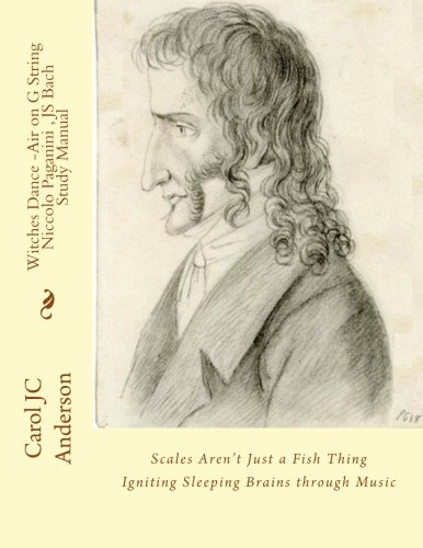 Witches Dance - Niccolò Paganini - Study Manual: Scales Aren't Just a Fish Thing - Igniting Sleeping Brains through Music: Volume 8 (Keepers - Book Two)