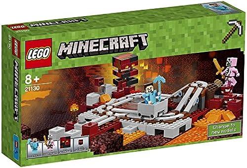LEGO inecraft Die Nether-Eisenbahn