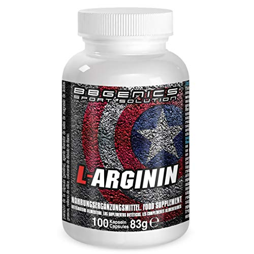 BB Genics L-Arginin, Neutral, 83g Dose