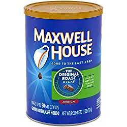 Maxwell House Decaf Original Medium Roast Ground Coffee (11 oz Canister)