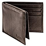 Rolfs Bifold Wallet for Mens, RFID Blocking Genuine Leather Brown Men Wallet, 4.25 x 3.25 Inch Slim, Compact and Lightweight