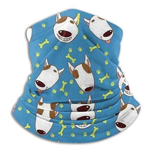 Blu animale sveglio scaldacollo -Headwear Ampia fasce foulard Wrap Maschera, Buff Fascia per capelli, tubo Pesca Maschera Viso Maschera Bandana Sport Sciarpa Uomini Donne