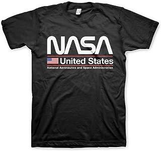Nasa United States T-Shirt da Uomo Ufficiale con Licenza
