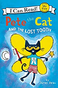 Pete the Cat book is a great tooth fairy idea