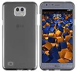 mumbi Custodia compatibile con LG X Cam, chiaro nero