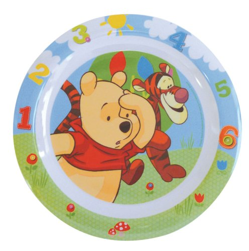 Spel - 000247 - Ameublement et Décoration - Assiette - Disney Winnie The Pooh - Mélamine