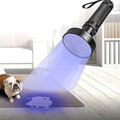 UV Black Light Flashlight, Super Bright 68 LED Best Pet Dog Cat Urine Detector Light Flashlight for Pet Urine Stains, UV Blacklight Flashlight for Bed Bugs Scorpions, Home Hotel 5