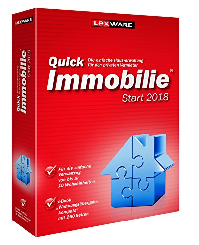 Vollversion / Lexware QuickImmobilie Start 2018 / CD Box / 365-Tage Version