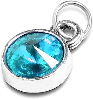 Extra Birthstone Charm for Necklace Bracelet Custom Small Pendant