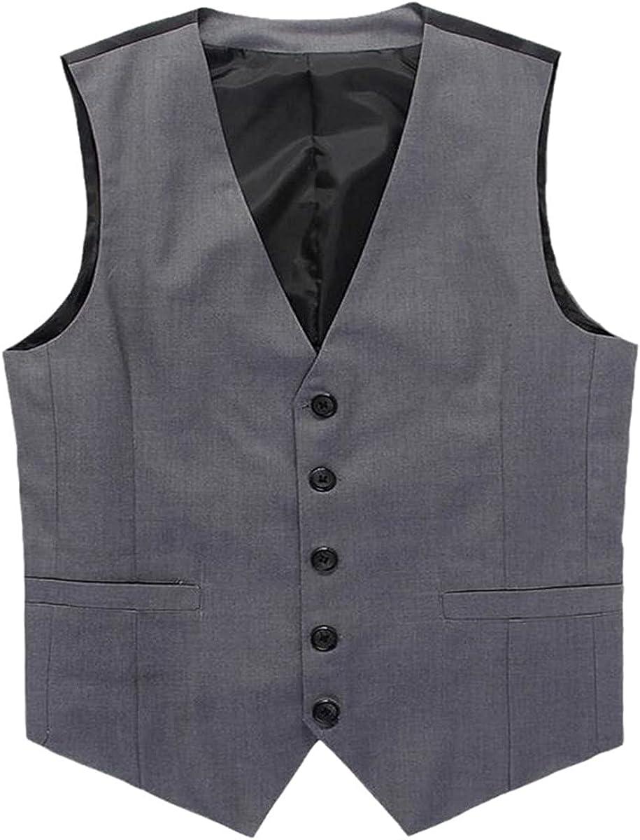 Wedding dress men's fashion suit vest black high-end business casual suit vest