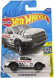لعبة السيارات من دايكاستس آند توي - هوت ويلز 1:64 سيارة مقاس 19 لفورد رانجر راتور نموذج معدني مصبوب في قالب سيارة ألعاب لل...