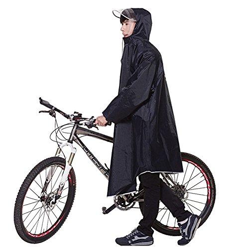 【2020年最新版】Aosovs レインコート 自転車 バイク レインポンチョ ロング ポンチョ レディース メンズ 男女兼用 通勤通学 フリーサイズ 完全防水 四季通勤 収納袋付き 6カラー