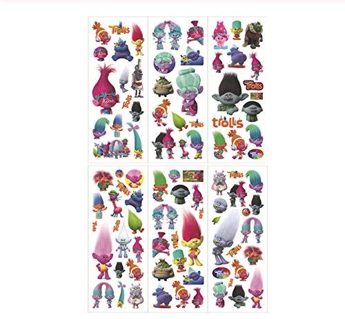 30 Vellen 5 Set Cartoon Stickers Voor Kinderen Thuis Muur Decor Op Laptop Schattige Mini 3D Sticker Speelgoed Notebook Dagboek Scrapbooking