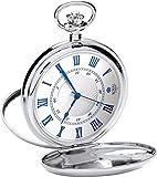 Royal London 90050-01 - Reloj de Bolsillo, Correa de Acero Inoxidable