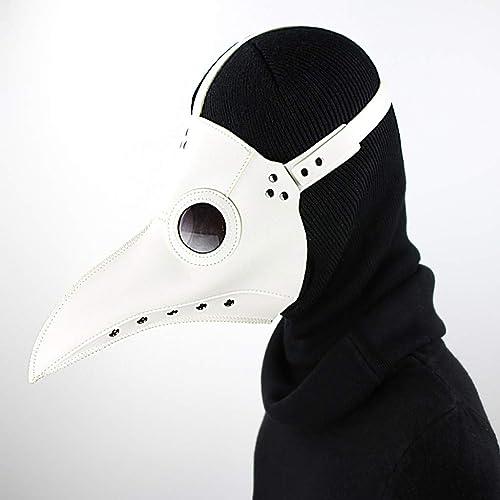 mas barato WANG XIN Máscara Máscara Máscara de Halloween Cosplay Steampunk Plaga pájaro Boca máscara  promociones de descuento