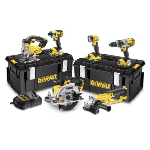 mejores Juegos de herramientas eléctricas Dewalt DCK692M3-GB - Juego de herramientas eléctricas (18 voltios, pack de 6)
