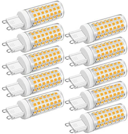 Led G9 Dimmable Bulbs 4 5w Led Bulbs Replacement 35W 40W 50W Halogen Light Bulb 2700K Warm White product image
