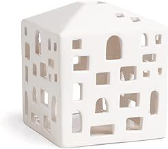 Kahler Urbania Tea Light House - Ceramic Candle Holder - City House