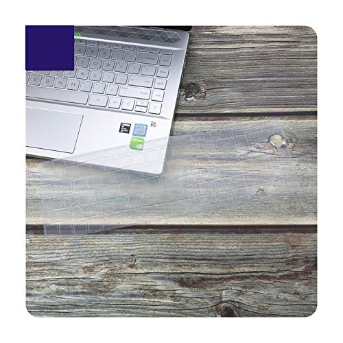 Laptop Keyboard Cover skin Protector For Dell Vostro 15 5590 7590 5501 Inspiron 15 7000 7590 7591 Inspiron 15 5000 5584 5593-Clear