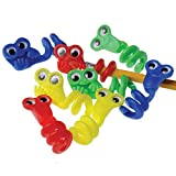US Toy Wiggle Eye Pencil Toppers (12 Count)