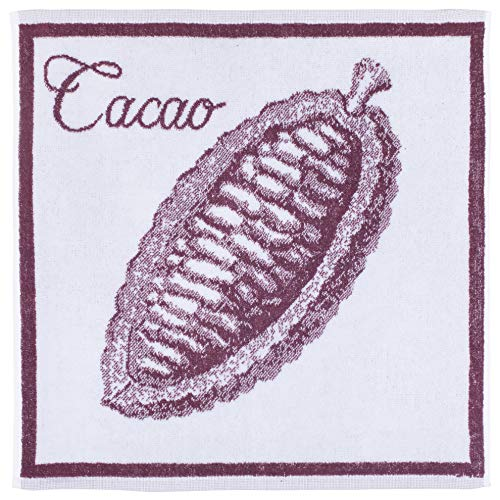 Coucke Carré éponge Jacquard Pur Coton, Maison du Chocolat