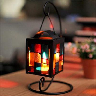 MyHome Lampe mosa/ïque Lumineuse