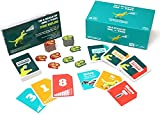 On a Scale of One to T-Rex: A Card Game for People Who Are Bad at Charades - Card Games For Adults, Teens & Kids