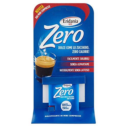 Eridania Zero 300 mini compresse - 4.5 Gr, Bianco