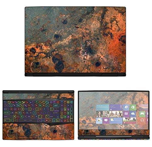 """Protective Decal Abstract Rock Formation Skin Sticker for MSI GL Series GL65 (15.6"""" Screen) case Cover wrap - decalrus MSgl65_15-149"""